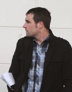 Mark Colhoun at court yesterday.