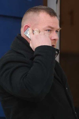 Michael Ward was found guilty of assault causing harm after he stabbed his brother-in-law.