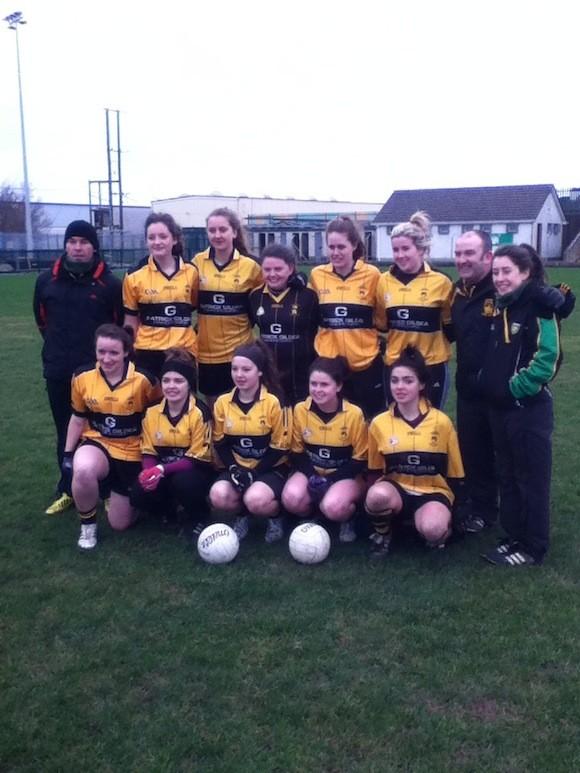 Crossmaglen 7s winners: The St Eunan's Ladies