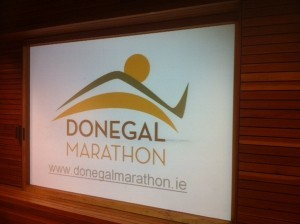 The Donegal Marathon logo which was designed by LYIT Art and Design student Samantha McGinley from Letterkenny.