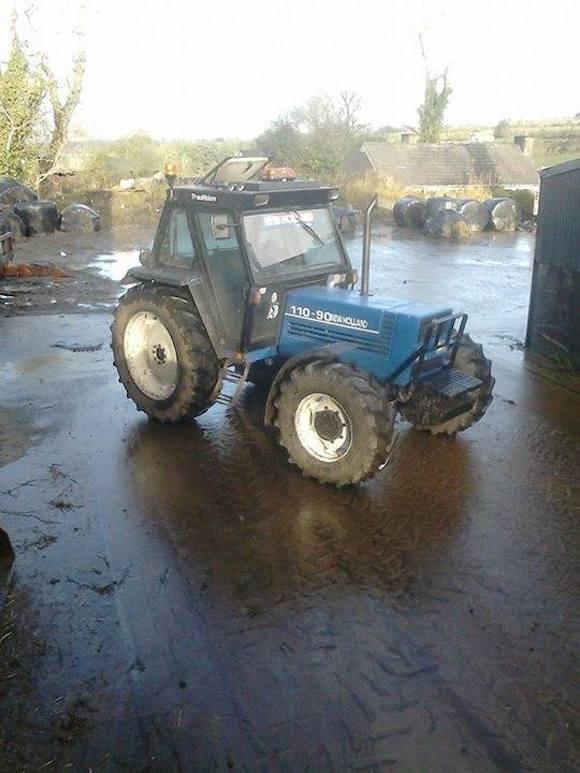 stolen tractor