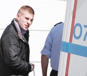 Matthew Lafferty: Behind bars