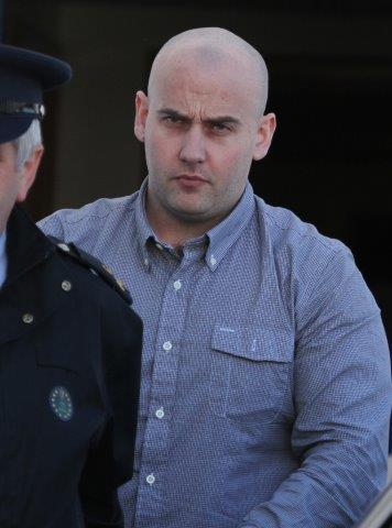 Mark Cassidy leaving court at previous sitting. Pic copyright of Northwest News pix.