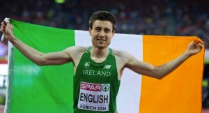 Mark English has been called into the Team Europe team for the IAAF Continental Cup in Marrakesh.