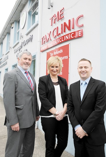 Noel O' Donnell, Mabel McHugh & Michael Coll of The Tax Clinic.