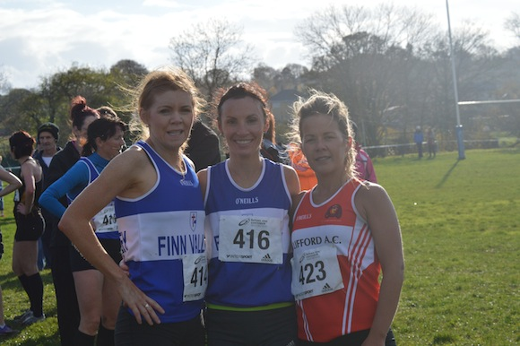 Caitriona Devine, Theresa McGloin and Claire McGuigan.