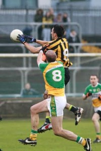 Rory Kavanagh in action for St Eunan's. He will continue to captain his club