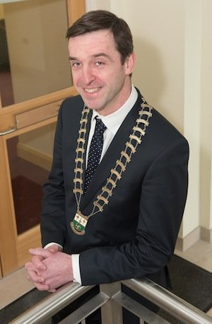 Letterkenny Chamber President, Brian McCormick.  Photo- Clive Wasson