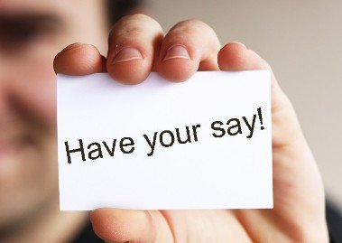 Have your say 2