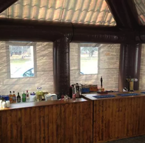 The inside of the pub!