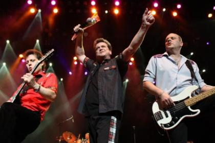 Bay City Rollers on stage last night
