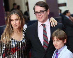 SJP and her family.
