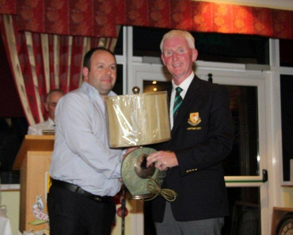 2. Darren Mc Daid 2nd on Captains Day_