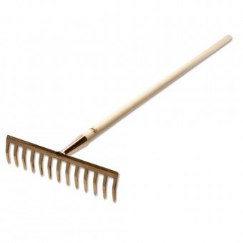 Copper Rake - available from GreenHill Farm