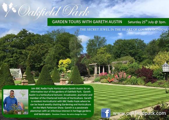 Oakfield park July tour