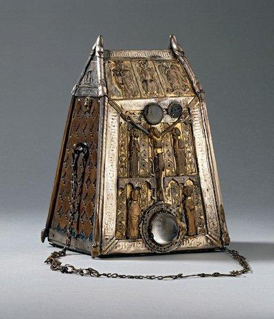 The shrine for St Conall's Bell