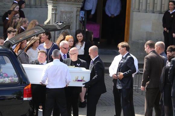 Tory Johnston funeral 3