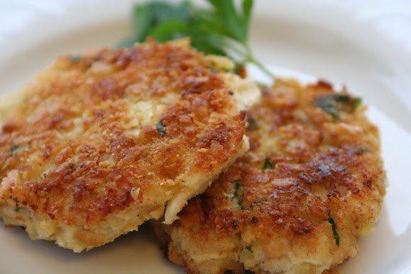 Martin's delicious Thai fishcakes.