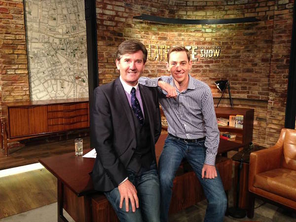 Daniel and Late Late host Ryan Tubridy.