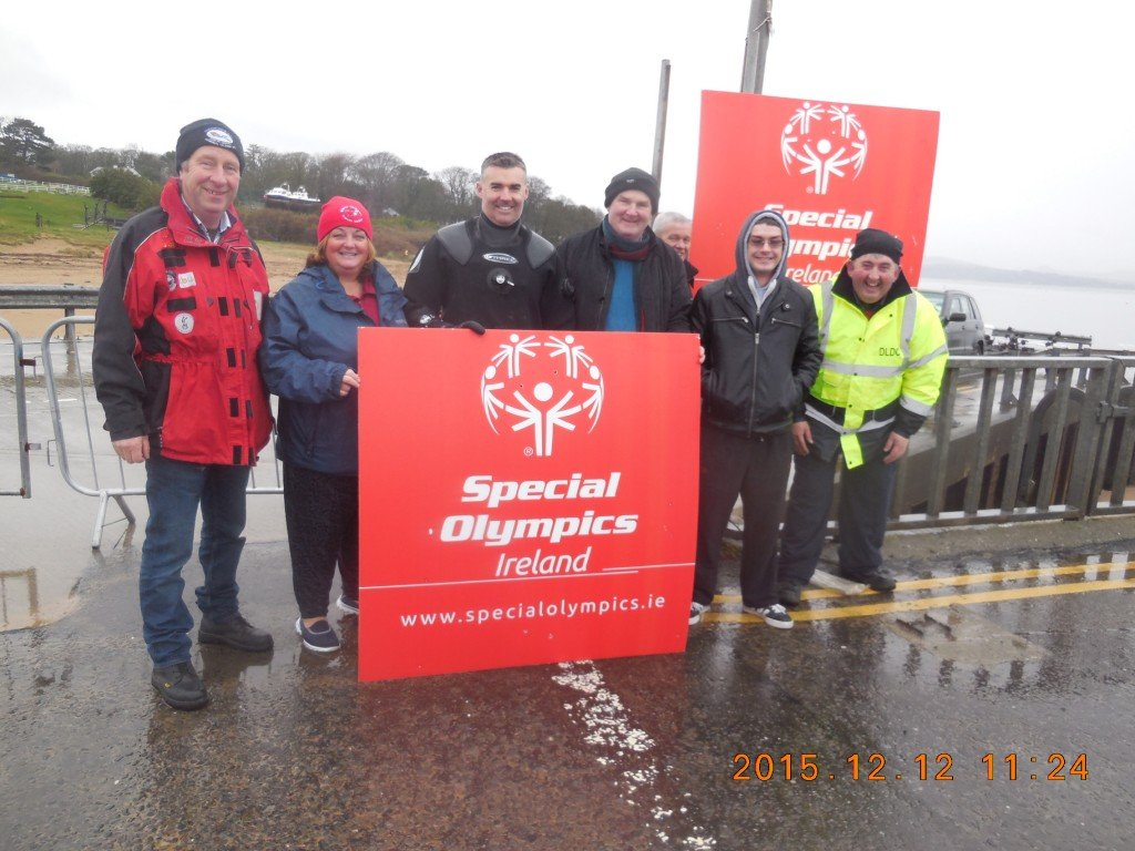 2015-12-12 Sheephaven Stand-By Divers, Polar Plunge, Rathmullan, Co. Donegal.