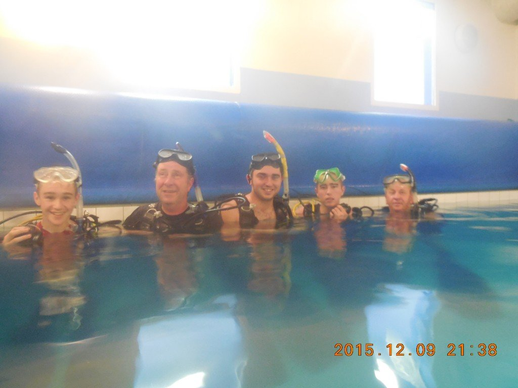 2015-12-13 Sheepahevn 2015 Try A Dive, Meevagh Dive Cenre, Carrigart, Co. Donegal