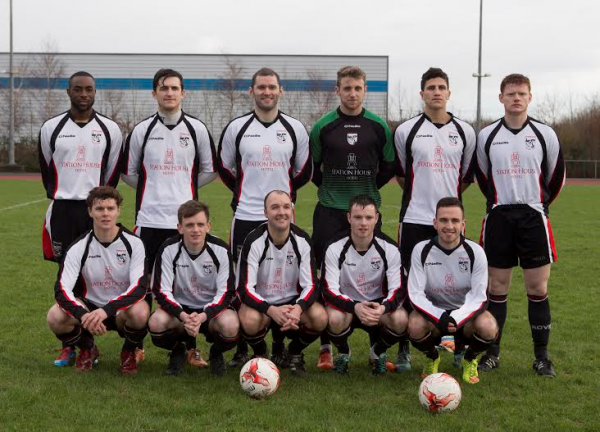Letterkenny Rovers team prior to their FAI Cup win over Dunboyne last week. Picture by North-West Newspix.