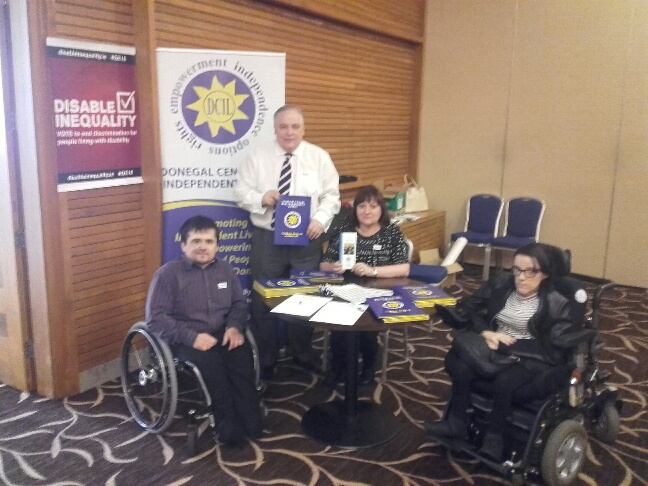 Frank McBrearty feels as a society we need to do more for people with disabilities.