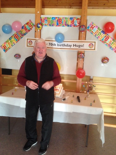 Hugo is 70 not out!
