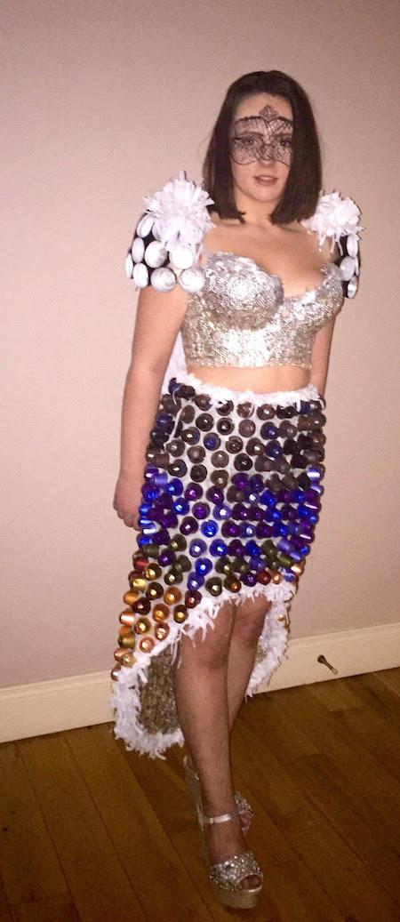 Cora's 'Coffee Queen' dress.