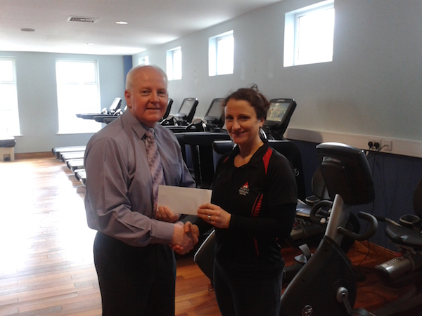 Raymond with Rhonda form the Mount Errigal Leisure Centre.