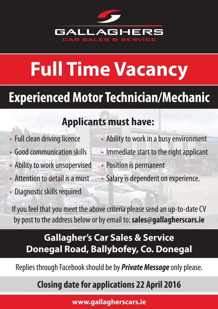 GG - Employment Advert