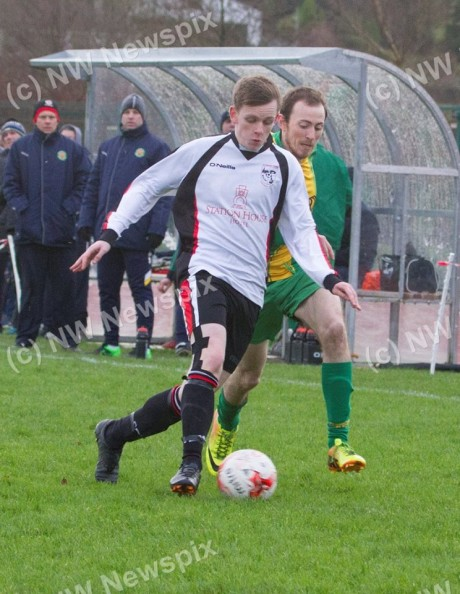 Ryan Lonergan in action for Rovers.