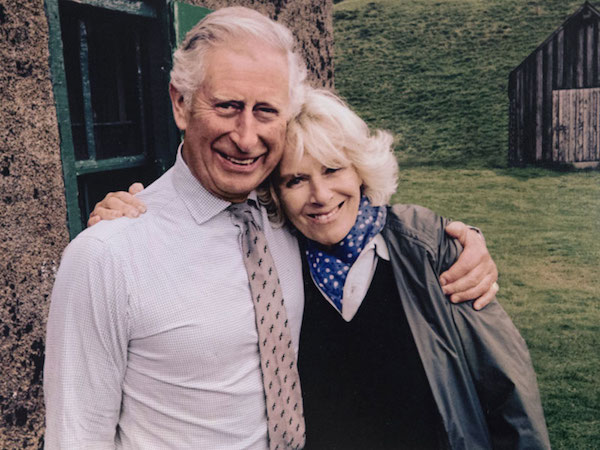 Prince Charles and wife Camilla.
