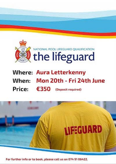 lifeguard course poster