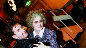 Daniel O'Donnell pictured with the late Caroline Aherne in 1999.