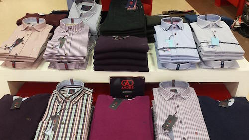 All the top brands are still at Watson's Menswear at Main Street, Letterkenny.