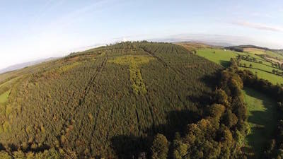 The Celtic Cross planted into the landscape between Killea and Manor. Picture by Darren Sheaffer.