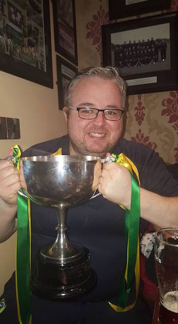 New Glenswilly manager Aidy Glackin.
