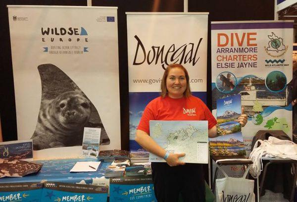 Joy Harron from Donegal Tourism Ltd