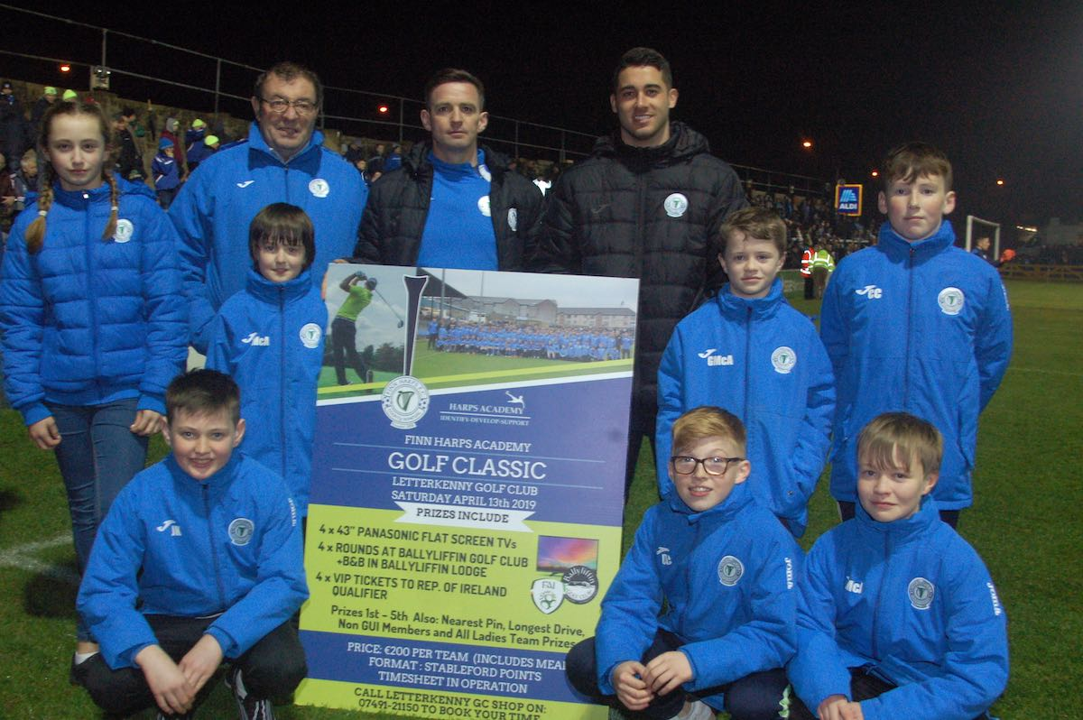 Finn Harps to hold golf classic fundraiser for underage