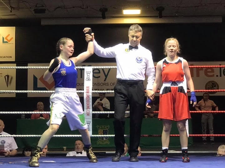 Hat-trick of Irish titles for Donegal boxers in Girls