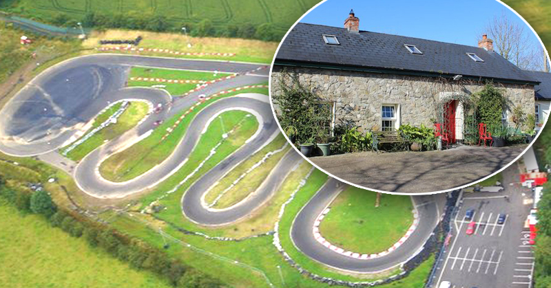 Get a free go-karting track with this stunning traditional