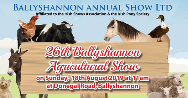 Ballyshannon Agricultural Show to be a fantastic day out